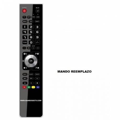 Mando DVD/HDD AIRIS KT777A