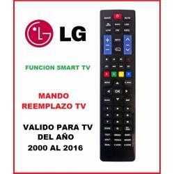 Mando a distancia de Reemplazo para televisores Lg 2000 - 2016