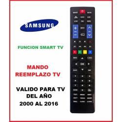 Mando a distancia de Reemplazo para televisores Samsung 2000 - 2016